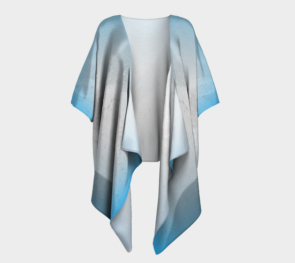 Blue Mountain Draped Kimono Cardigan - Tru-Artwear.ca