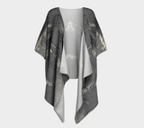 Flight of Spirit Draped Kimono Cardigan - Tru-Artwear.ca