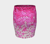 Pretty and Pink Fitted Skirt - Tru-Artwear.ca