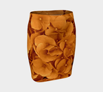 Amber Hydrangea Fitted Skirt - Tru-Artwear.ca
