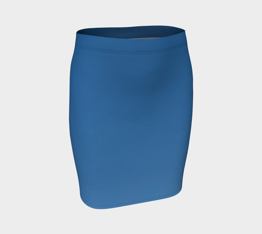 Dominican Sky Fitted Skirt - Tru-Artwear.ca