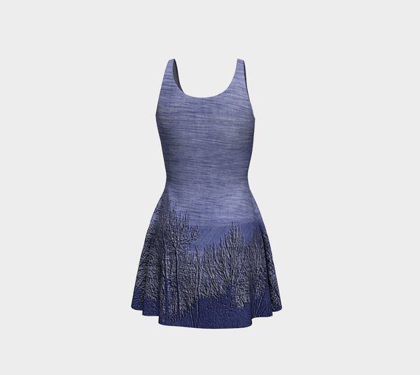 Pen Dusk Flare Dress - Tru-Artwear.ca