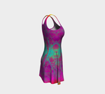 'Boho Inspired Nature' Flare Dress - Tru-Artwear.ca