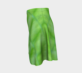 Hosta Greenery Flare Skirt - Tru-Artwear.ca