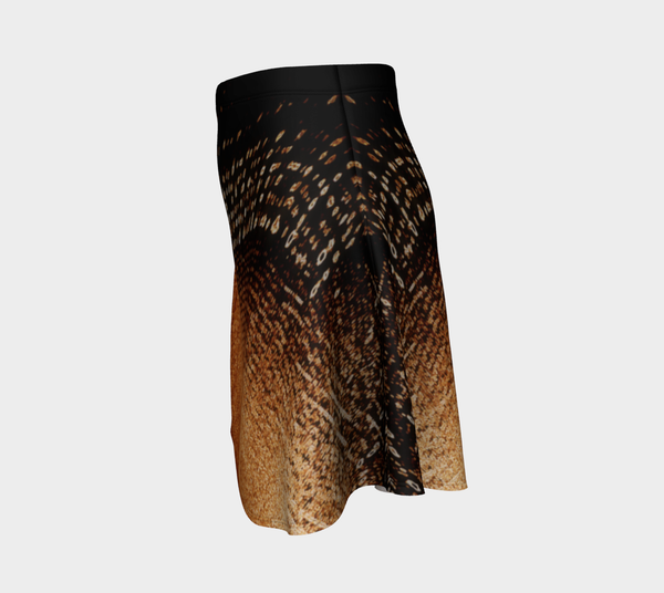 Amber Lights No.2 Flare Skirt - Tru-Artwear.ca