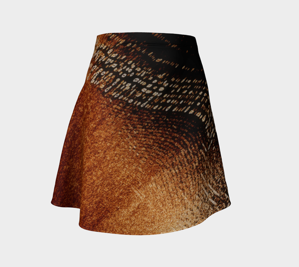 Amber Lights No.3 Flare Skirt - Tru-Artwear.ca