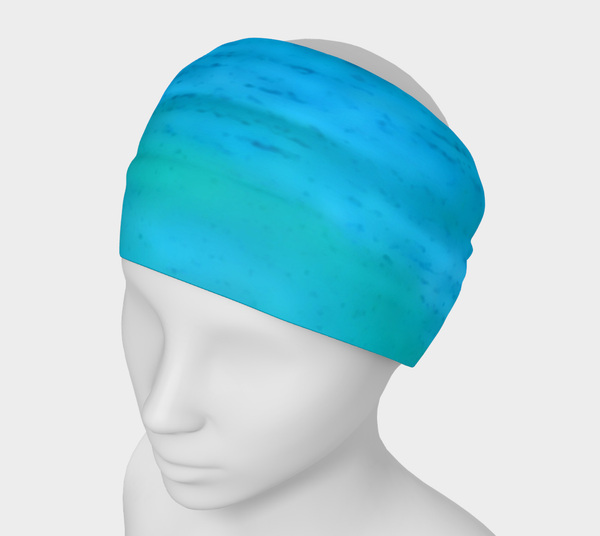 2 - Water Colours Yoga Headband No.2 - Tru-Artwear.ca