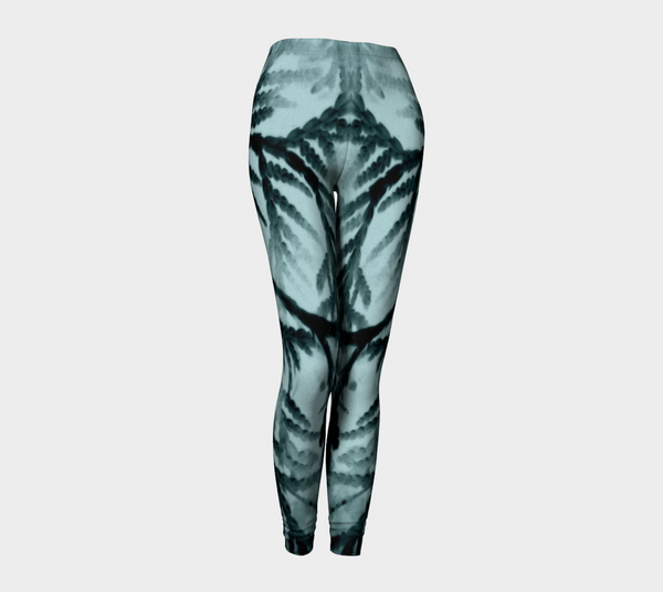 Just Beyond the Trees Leggings - Trū Canadian ArtWear by Nadia Bonello