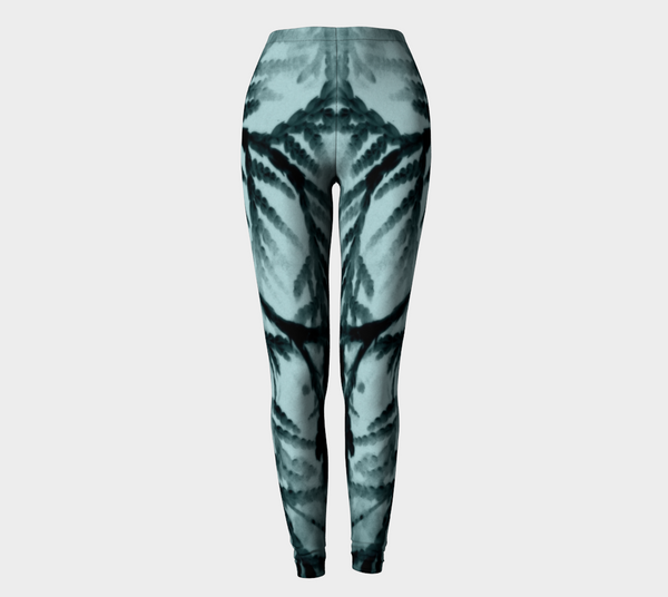 'Just Beyond the Trees' Leggings (Burlesque /Goddess) - Tru-Artwear.ca