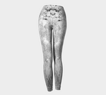 'Silver Frosted Ornamentals' Leggings - Tru-Artwear.ca