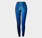 'Blue Web No.2' Leggings - Tru-Artwear.ca