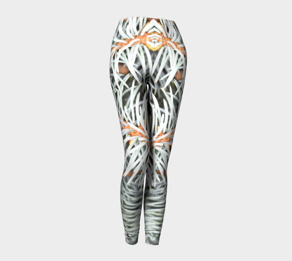 Silver Spruce Canada Leggings - Trū Canadian ArtWear by Nadia Bonello