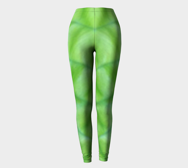 'Hosta Greenery' Leggings No.1 - Tru-Artwear.ca