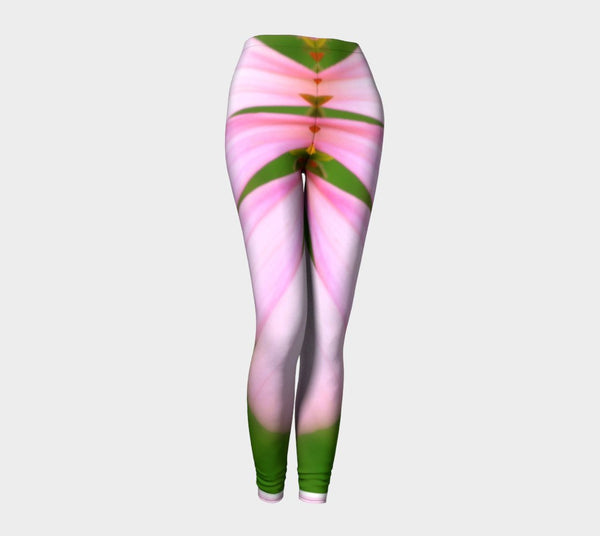 Pink and Green Leggings (Burlesque) - Tru-Artwear.ca
