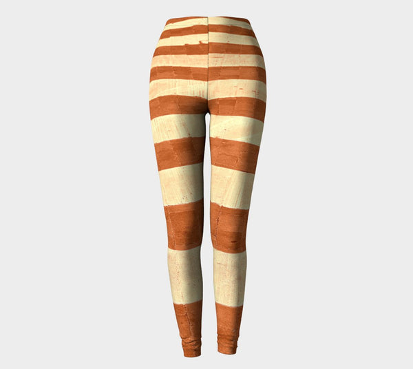 NEW FOR FALL! Maple Street Lines Leggings (Limited Edition: Only 25!) - Tru-Artwear.ca