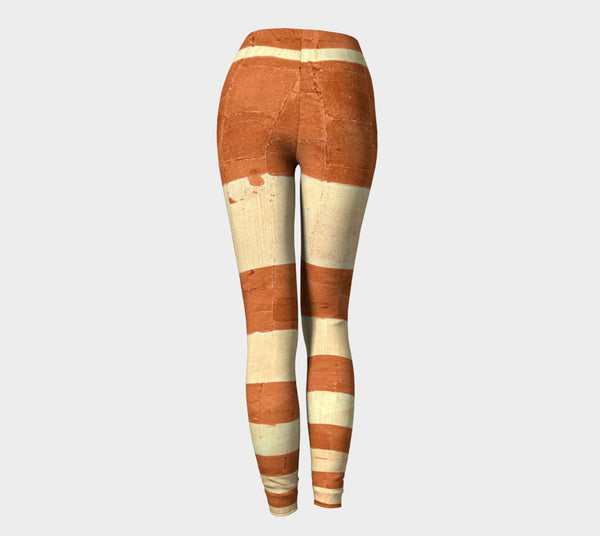 NEW FOR FALL! Grunge Maple Street Lines Leggings (Limited Edition: Only 25!) - Tru-Artwear.ca