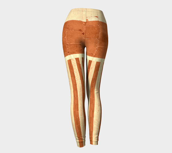 NEW FOR FALL! Street Stripe Maple Shorties Leggings (Limited Edition: Only 25!)*** - Tru-Artwear.ca
