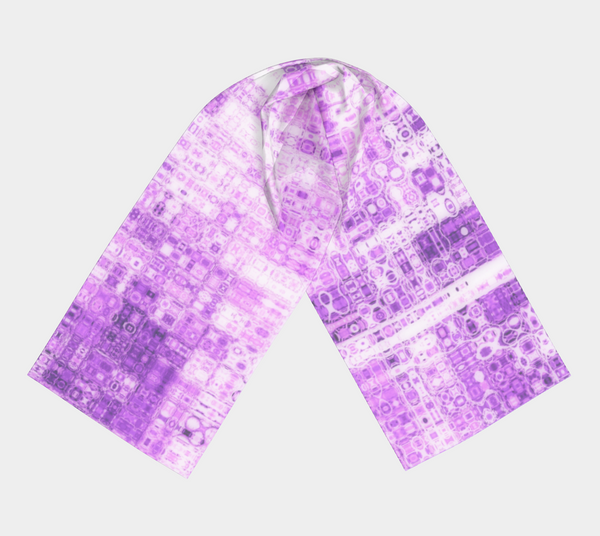 "Shawls | ""Purple Pink Mosaic "" 