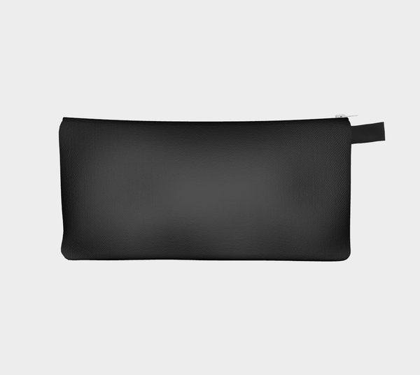 Solid Black Pencil Case - Tru-Artwear.ca