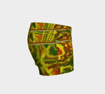 Green Red Water Abstract Shorts - Tru-Artwear.ca
