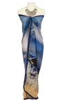 Blue Dusk Beach Wrap > - Tru-Artwear.ca