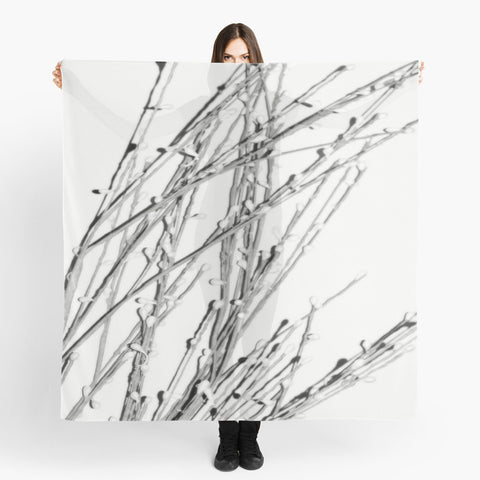 'White Pearl Grass' Beach Wrap - Tru-Artwear.ca