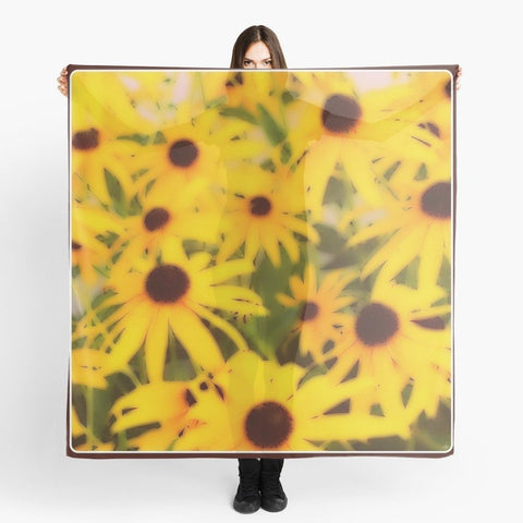 Black-Eyed Susans Beach Wrap - Tru-Artwear.ca