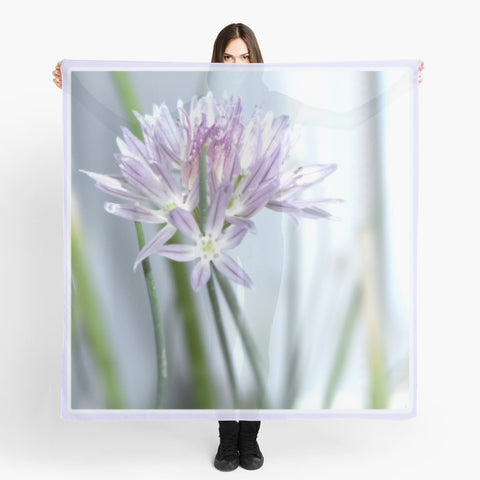 'Chive Flower' Beach Wrap - Tru-Artwear.ca