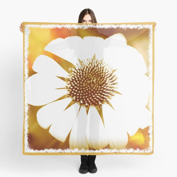 '1. Mod Gaillardia' Fashion & Travel Scarf - Tru-Artwear.ca