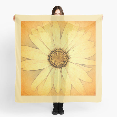 'Sunshine Daisy' Beach Wrap - Tru-Artwear.ca