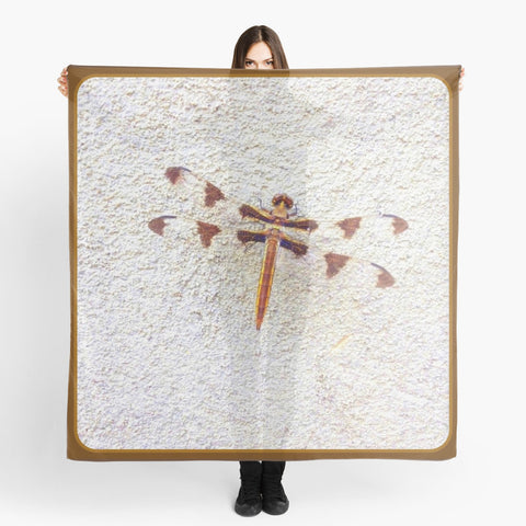 'Dragonfly on Wall' Beach Wrap - Tru-Artwear.ca