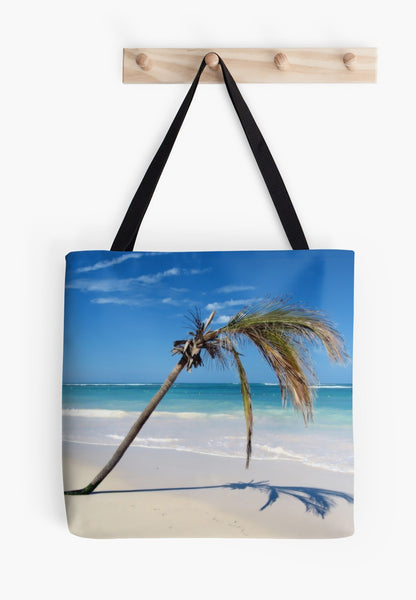 """Beach & Palm"" Beach Bag & Day Tote* - Tru-Artwear.ca"