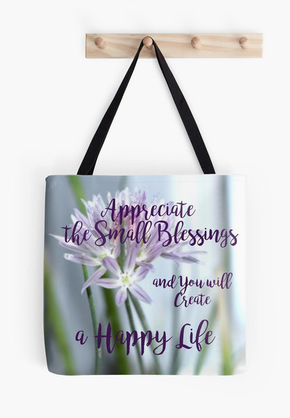 """Small Blessings"" Beach Bag & Day Tote Bags* - Tru-Artwear.ca"