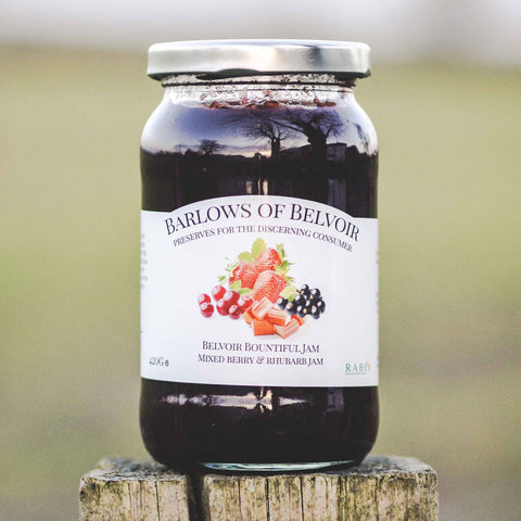 Belvoir Bountiful | Mixed Berry & Rhubarb Jam