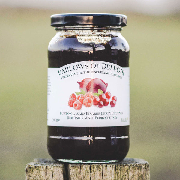 Burton Lazars Bizarre Berry | Red Onion & Mixed Berry Chutney