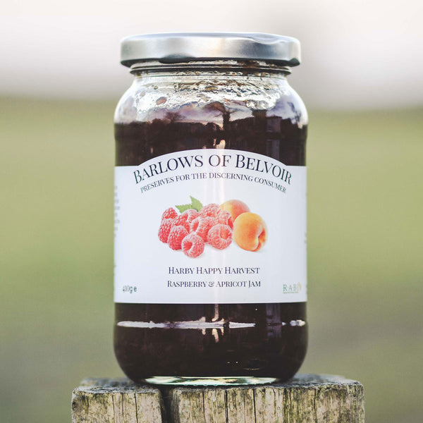 Harby Happy Harvest | Raspberry & Apricot Jam