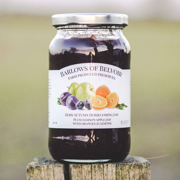 Hoby Autumn Homecoming | Plum, Damson & Apple Jam