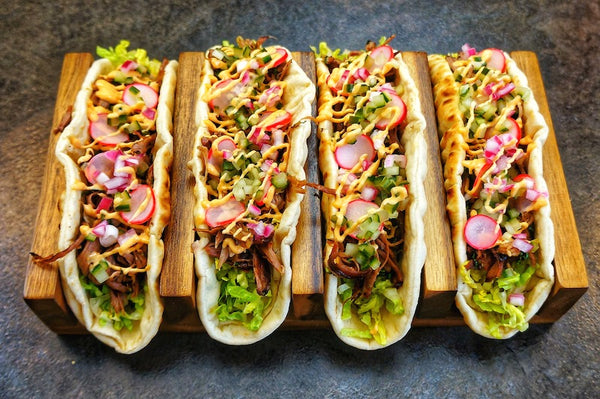Mexican Spiced Lamb Flatbreads
