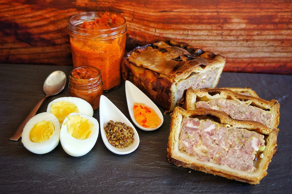Pork Pie with an American Twist