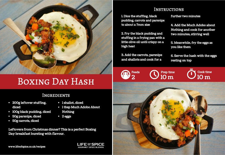 Boxing Day Hash