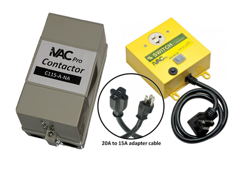 iVAC Pro Switch HP package - contains C115-A-NA and S11520-A-NA