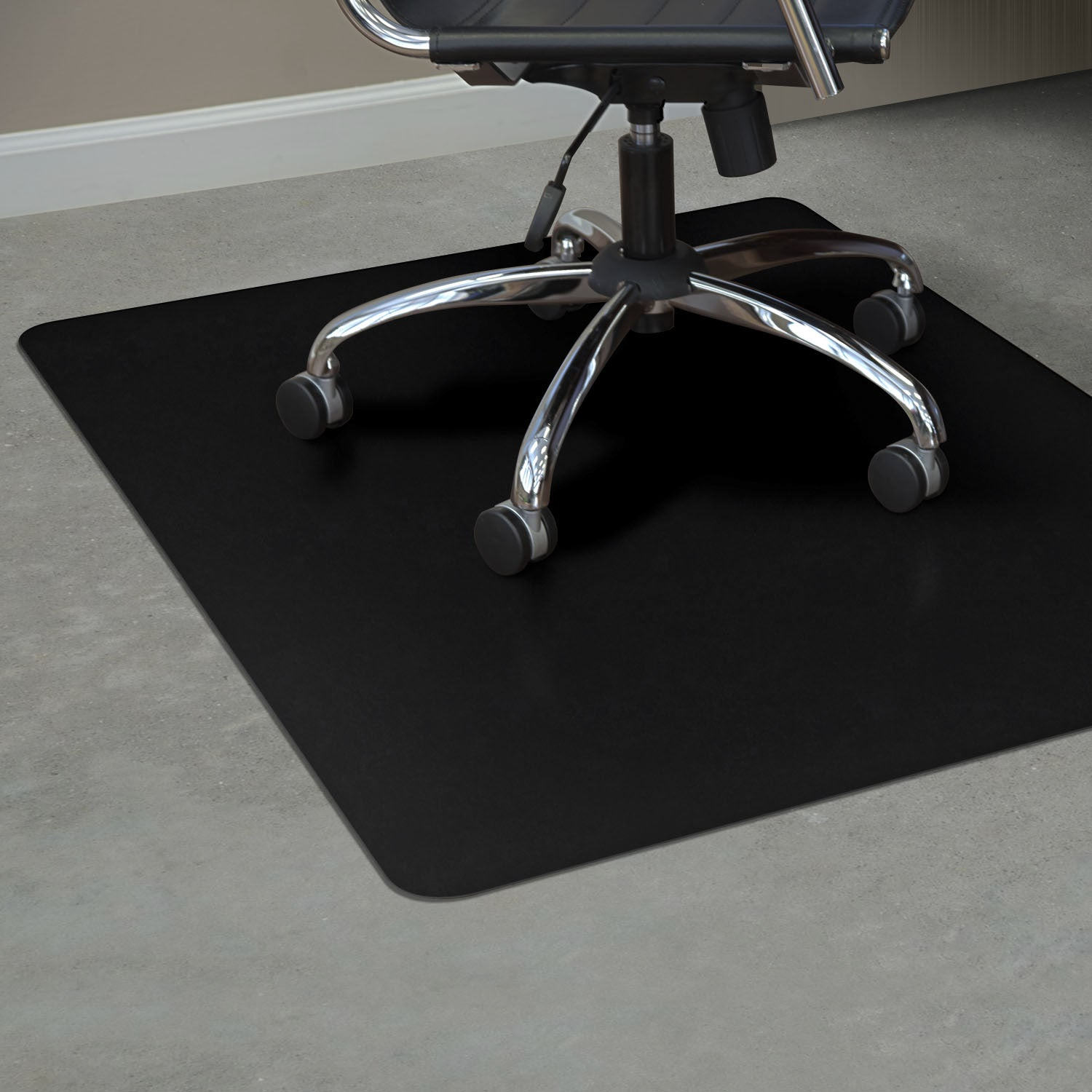 Black Chair Mat – Wel e to Myfloormat