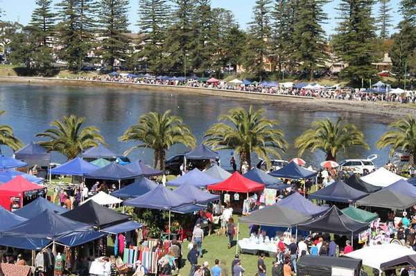Kiama Seaside Markets - Sunday 16th April 2017