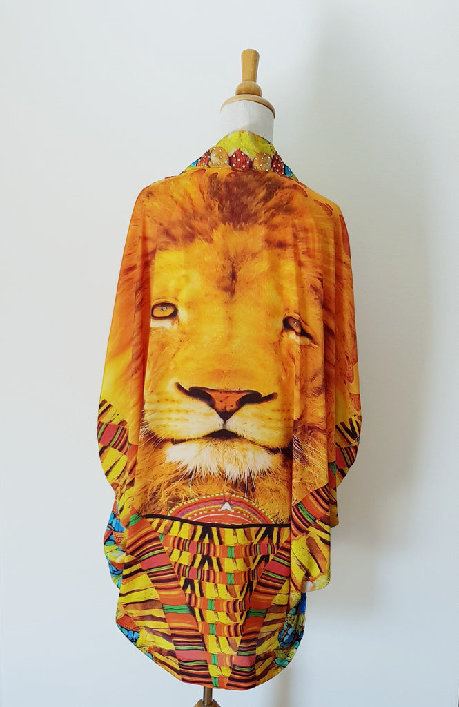 Leo Open Kaftan Jacket
