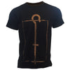 T-shirt Enlightenment, Black, Menswear, Limited Edition F le F Club