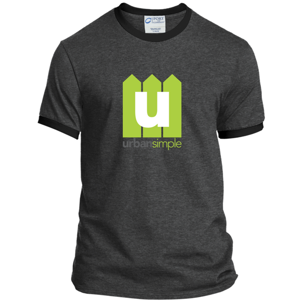 Urban Simple - Personalized Ringer Tee