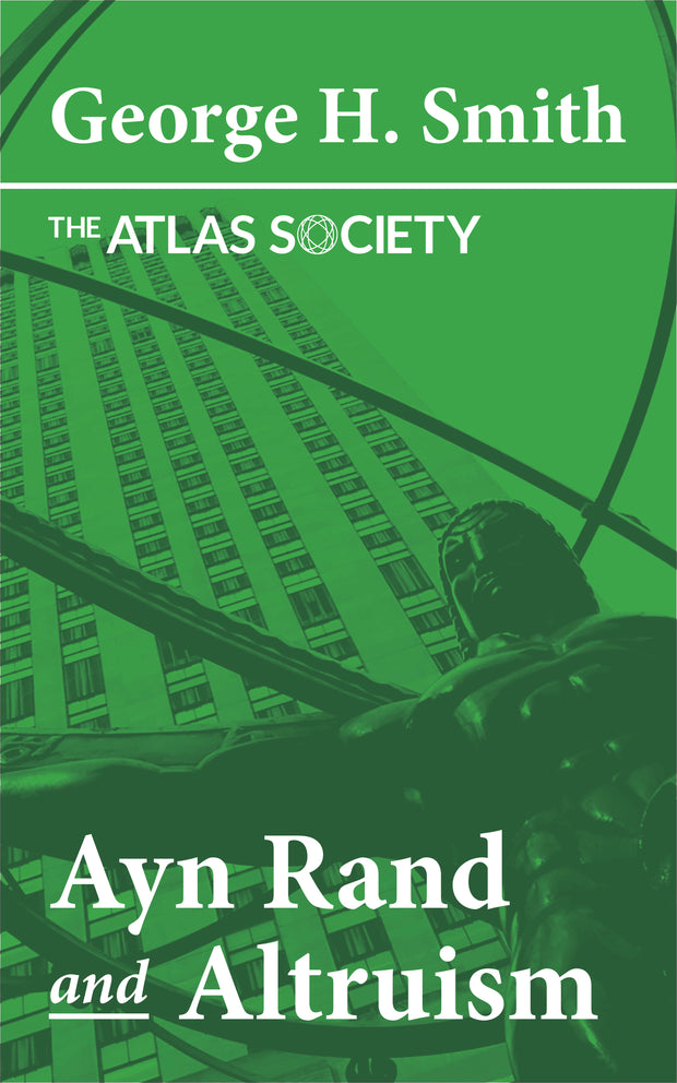Ayn Rand and Altruism