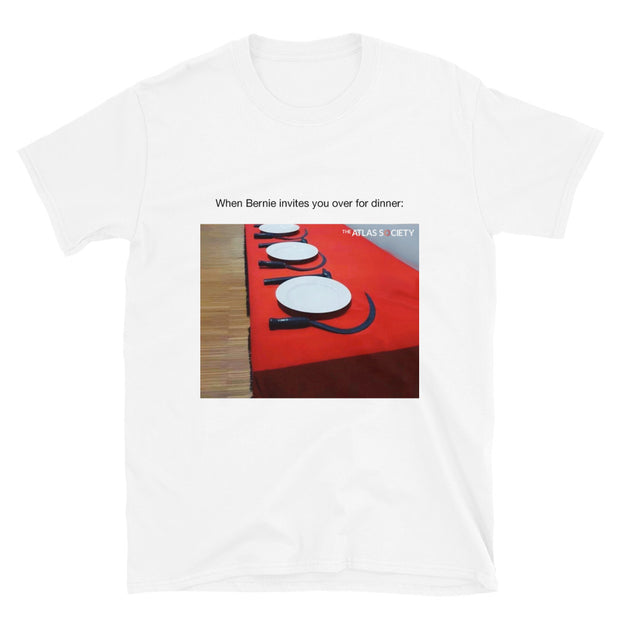 Dinner with Bernie Short-Sleeve Unisex T-Shirt
