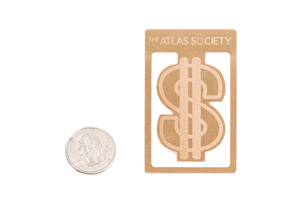 Atlas Society $ Bookmark