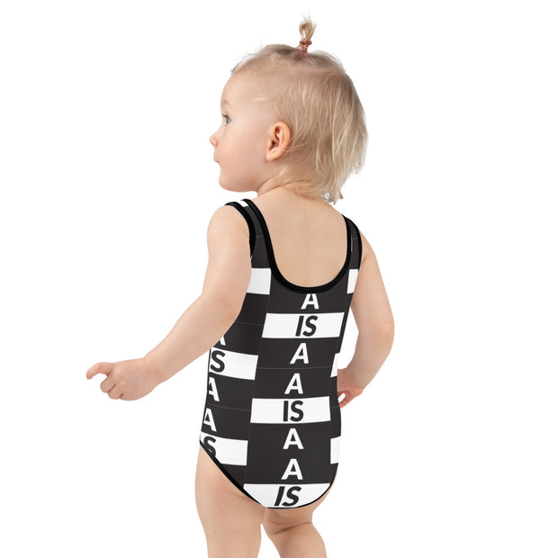 A is A Kids Swimsuit